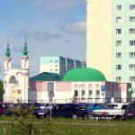 Первое здание Мечети